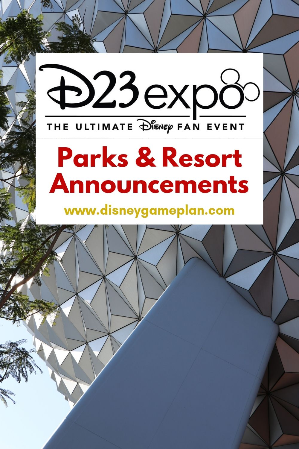 The D23 Expo 2019 has come and gone, check out the details on these Announcements for Walt Disney World and EPCOT at the D23 fan event. #DisneyTips #DisneyWorld #D23Expo