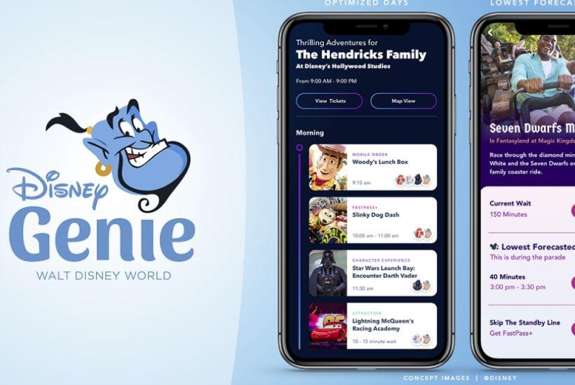 Disney Genie D23 Expo Parks & Resort Announcements