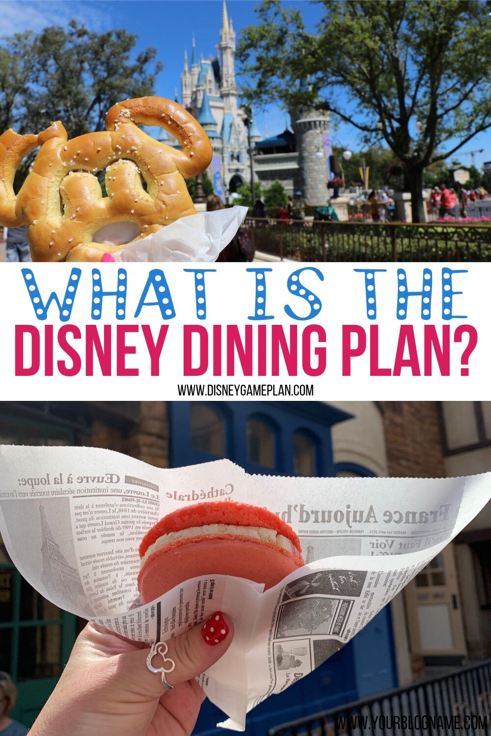Enjoy Delicious Pre-Paid Meals, Mobile Ordering and Specialty Beverages Too! Here is General Information About The Disney Dining Plan, types of dining plans and whether it is worth the money. #disneydiningplan #disneytips #disneyfood