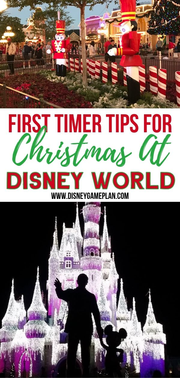 Even if you have been to Walt Disney World in the past, your first visit during the holiday season is totally different. These Disney World holiday tips will help make your disney vacation even more magical. #DisneyChristmas #DisneyPlanningTips #DisneyHoliday
