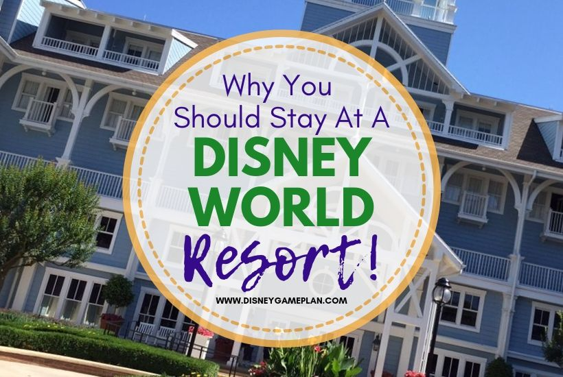 Disney World Resort Hotels are a Must-Do for Disney Fans. When you stay at a Disney World resort hotel you are part of a Disney vacation unlike any other.  To stay elsewhere is to miss out on some of Disney's best.