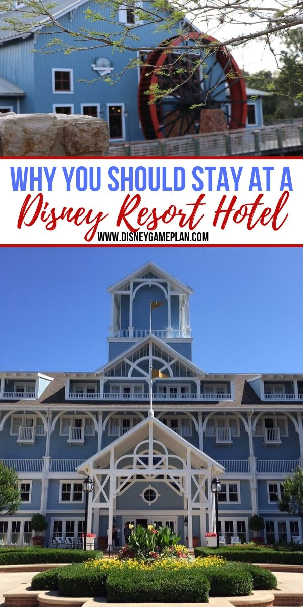 Disney World Resort Hotels are a Must-Do for Disney Fans. When you stay at a Disney World resort hotel you are part of a Disney vacation unlike any other.  To stay elsewhere is to miss out on some of Disney's best. #disneytips #disneyresorts #disneyworld #disneyhotel