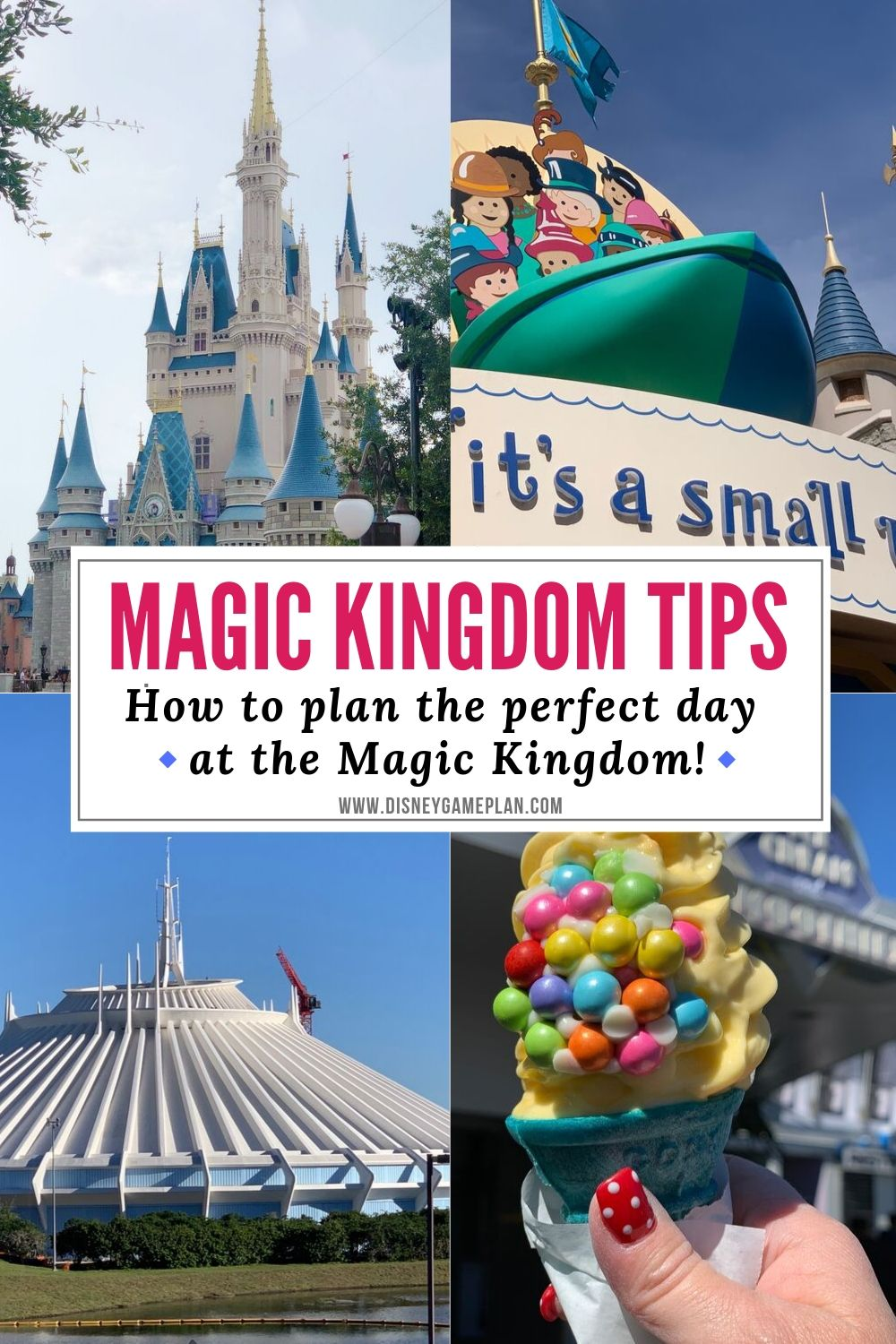 Every day should be a Magic Kingdom Day. Here are helpful Disney Planning tips to make the most of your day in Walt Disney World Magic Kingdom. These stress-free Magic Kingdom tips will make your Disney World Vacation even more magical. #disneytips #magickingdomtips #disneyhacks