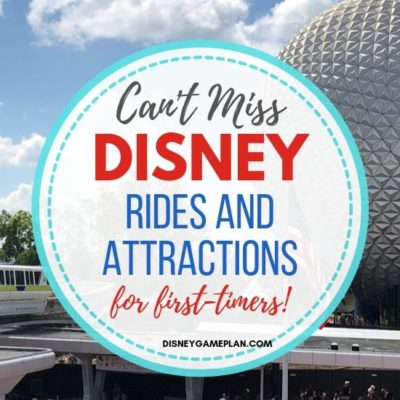 Disney World has so many rides and attractions. Today I am going to be sharing some of the most popular and can't miss rides and attractions throughout the Disney parks.