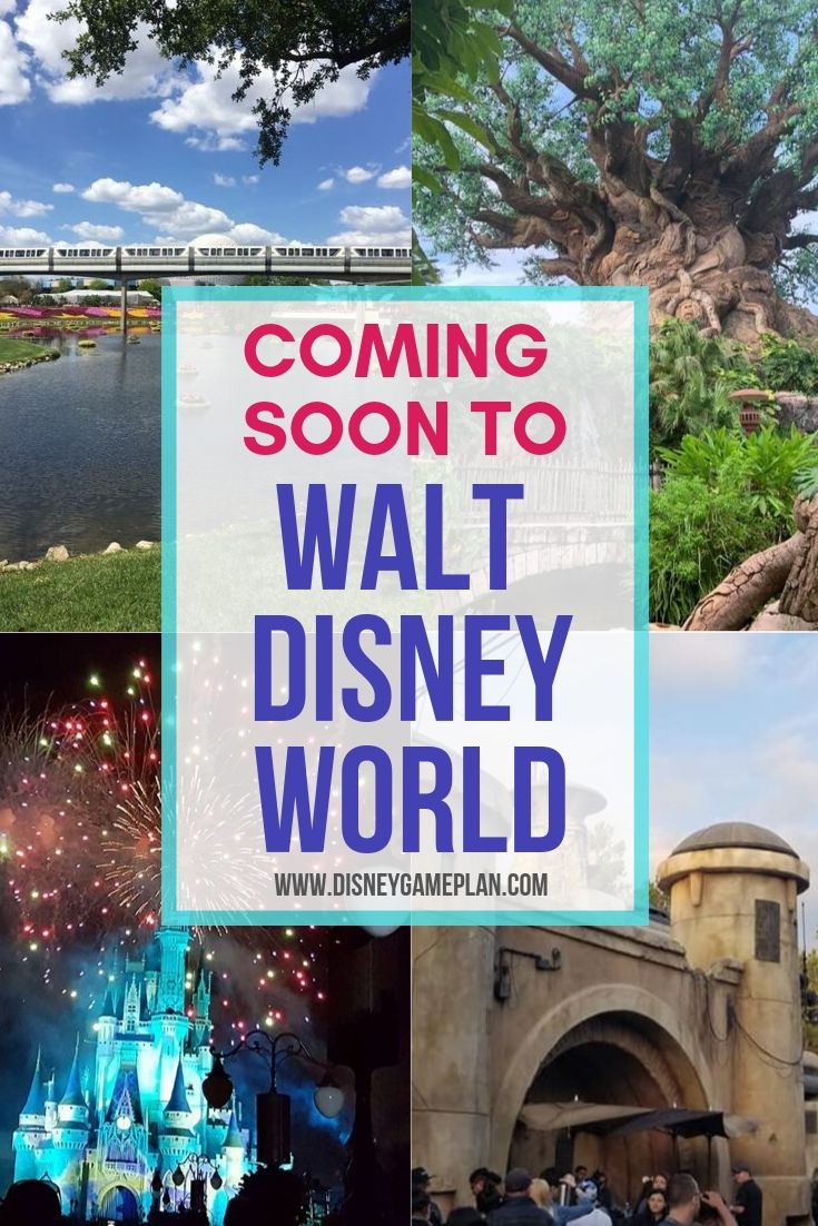As 2019 draws to a close, there are some last-minute additions Disney is bringing to their parks for our excitement. We can't wait to see these five new things coming soon to Disney World in 2019. #disneyworld #disneyplanning #disneytips