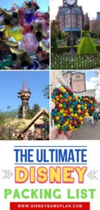 Planning a trip to Walt Disney World. Print this Ultimate Disney World Packing List so you are ready for a magical Disney World vacation.