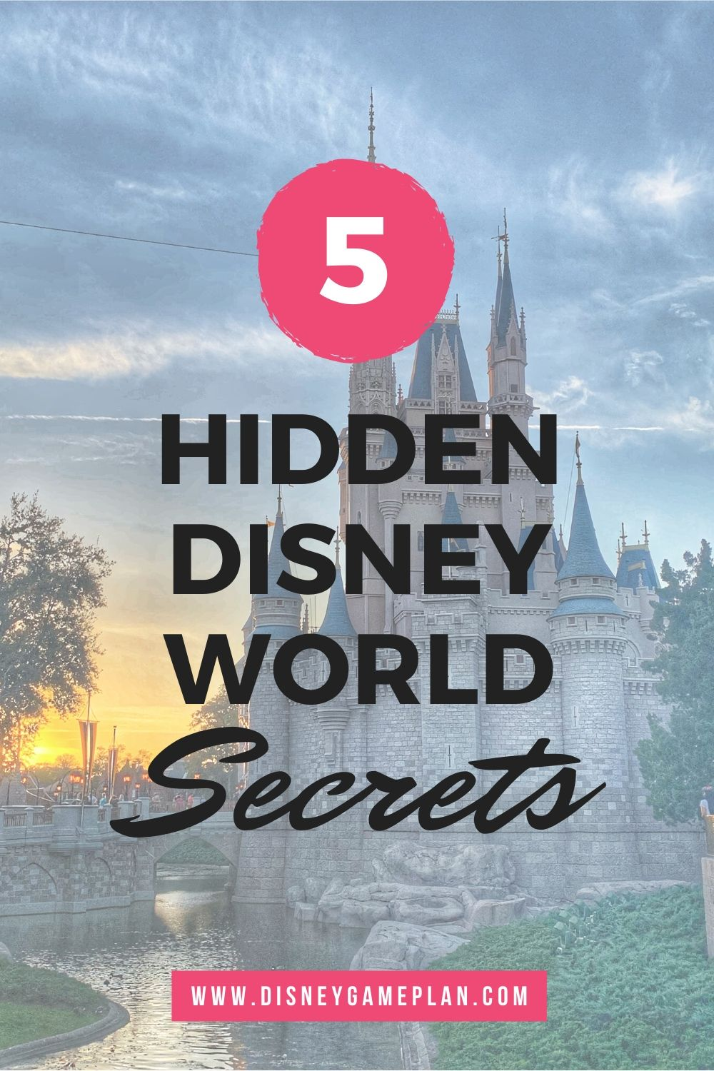 These hidden Disney World secrets give a fascinating insight into the minds of Disney Imagineers and other creatives that make Disney magic every day. Read more about these cool Disney tips. #hiddenmickeys #disneytips #disneysecrets