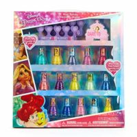 Disney Princess Non-Toxic Peel-Off Nail Polish Set for Girls