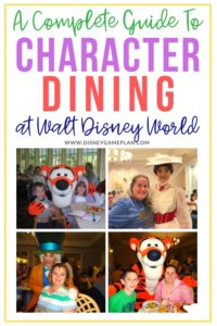 find the perfect Disney World character meals. read this comprehensive new guide on Where to Dine And Meet Disney characters in Walt Disney World restaurants.