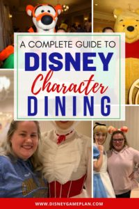 Find the perfect Disney World character meals. Read this comprehensive new guide on Where to Dine And Meet Disney characters in Walt Disney World restaurants. Plan the perfect Disney Dining experience with this ultimate guide to Disney World Character Dining. #disneydining #disneycharacterdining #disneytips