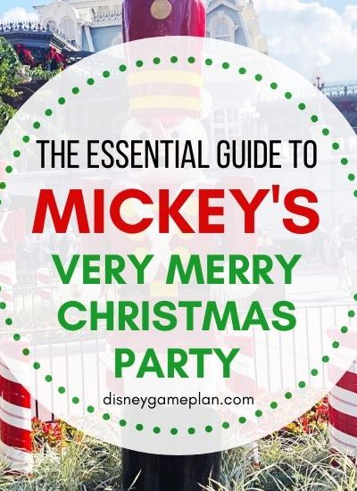 Disney At Christmas is a definite Must-Do. Here is Insider Guide to Mickey's Very Merry Christmas Party at Walt Disney World that includes all the details about this festive Disney holiday party. If you are planning to attend Mickey's Very Merry Christmas Party at Magic Kingdom, read this essential guide for helpful Disney planning tips.
