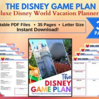Walt Disney World Vacation Planner