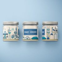 Magic Kingdom Soy Wax Candle