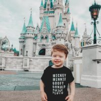 Disney Names Toddler Tee