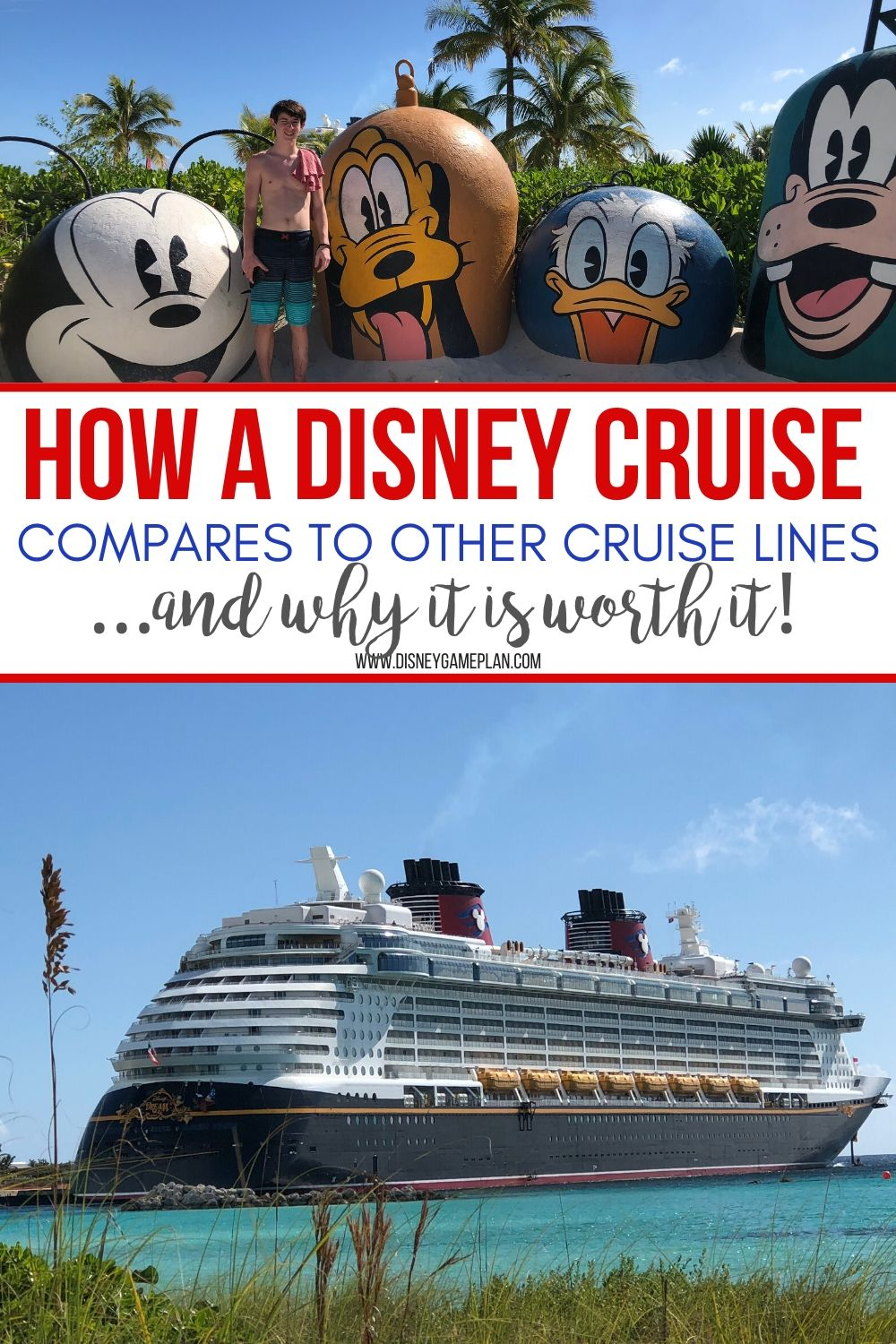 Disney Cruise Line Comparison pin