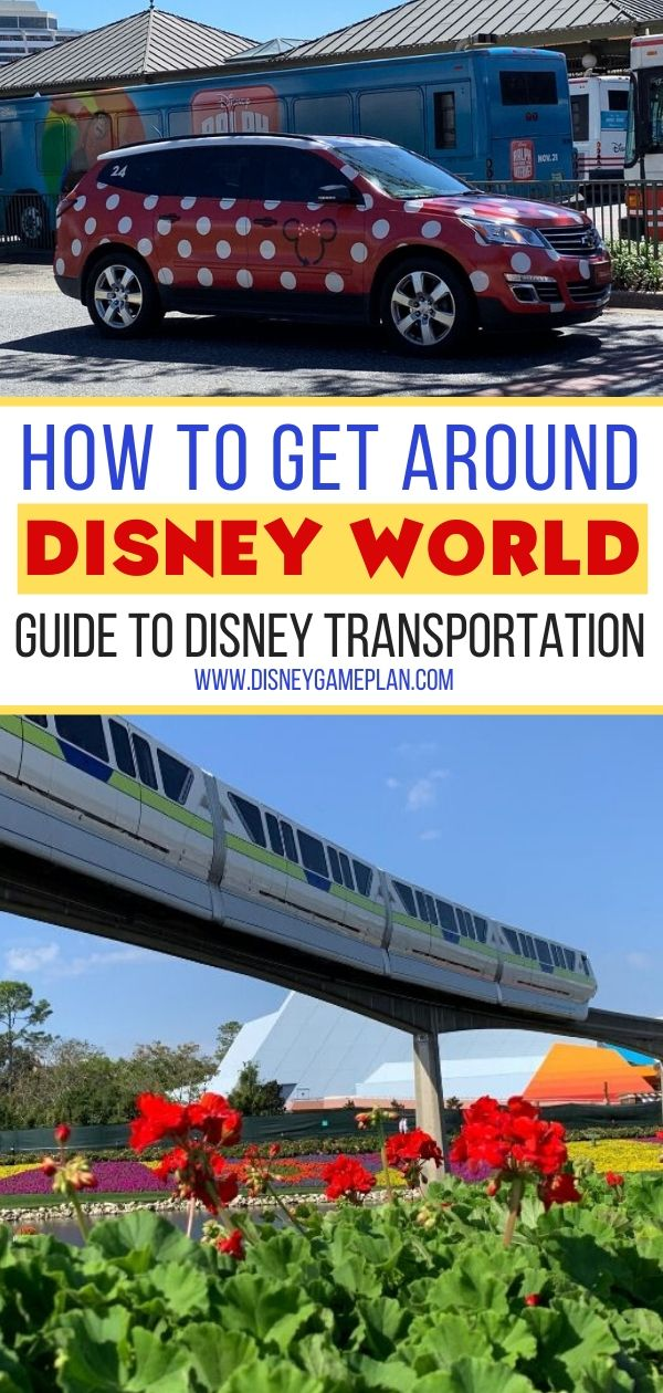 By boat, by bus, by car and by monorail...Disney World transportation is one of the pros of staying at a Walt Disney World resort. Disney World transportation is one of the pros of staying at a Walt Disney World resort. When you visit Disney World it's so nice not to have to drive anywhere. Using complimentary transportation at Walt Disney World is part of the Disney vacation experience. Here is everything you need to know before you go. #disneyworld #disneytransportation #disneytips