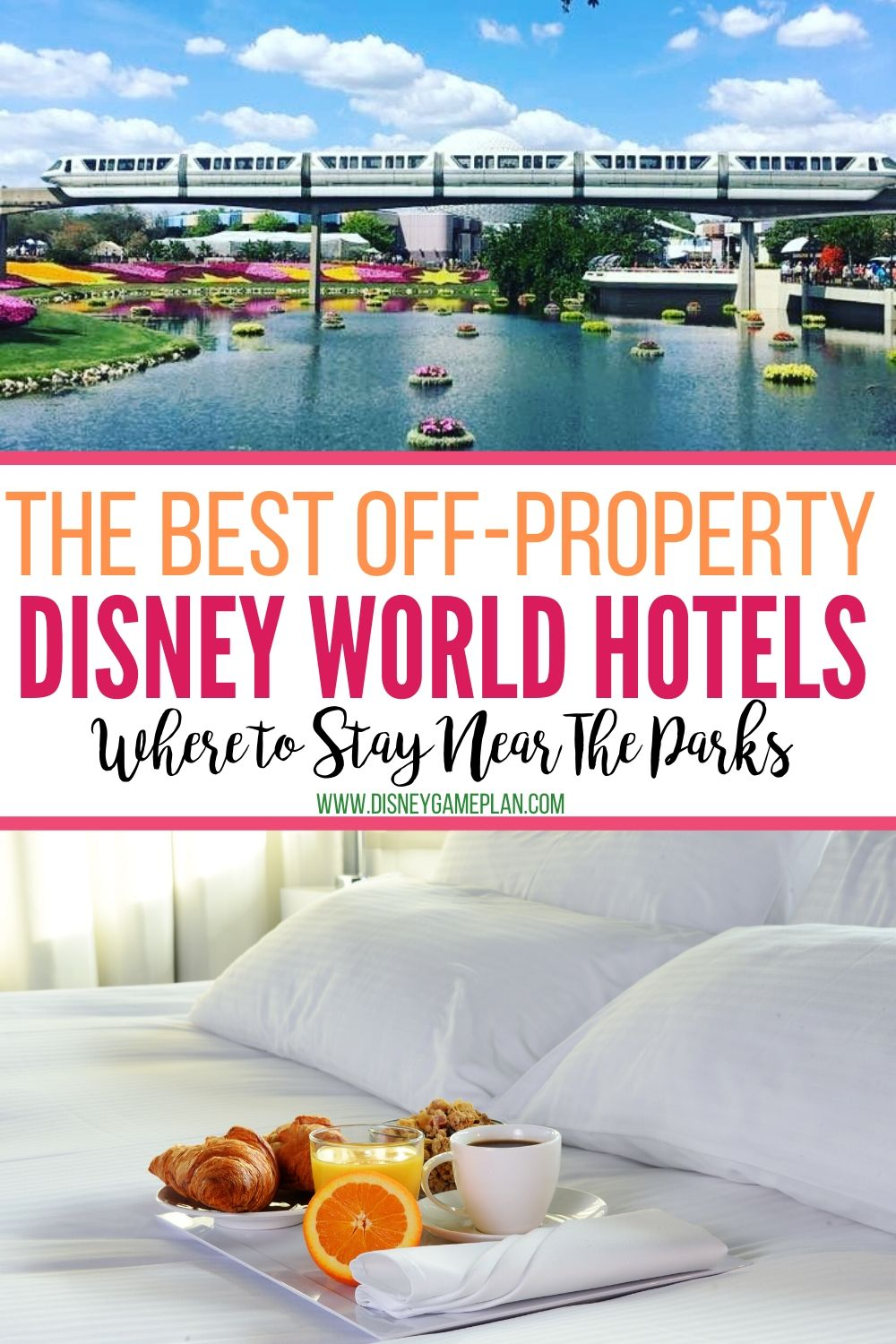 "Planning a budget-friendly Disney World vacation? Consider one of these ""Official"" Walt Disney World off-property hotels that are not owned or operated by Disney. #disneyworld #disneybudgettips #disneyhacks"