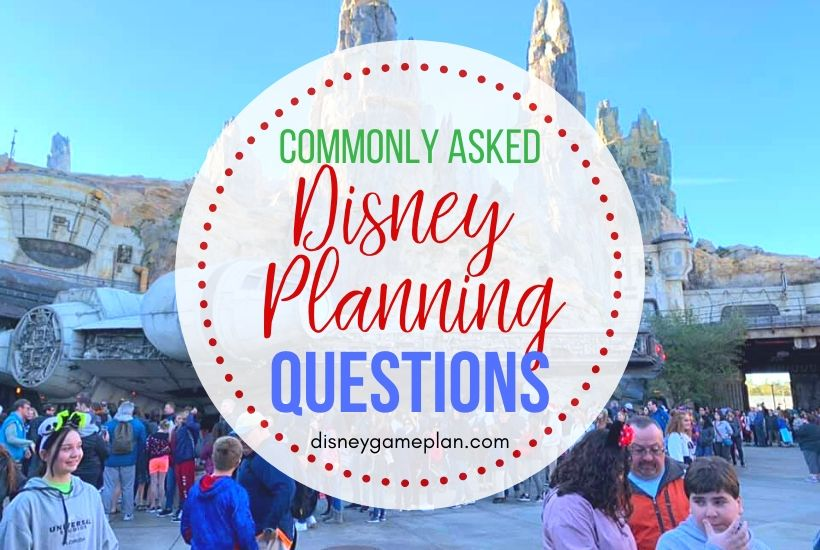Commonly Asked Disney World Questions