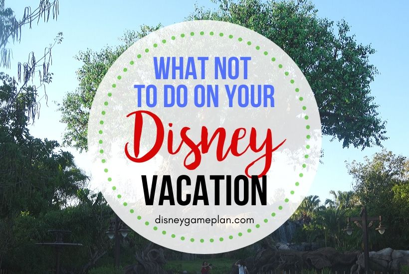 5 Disney World Mistakes You Do Not Want to Make