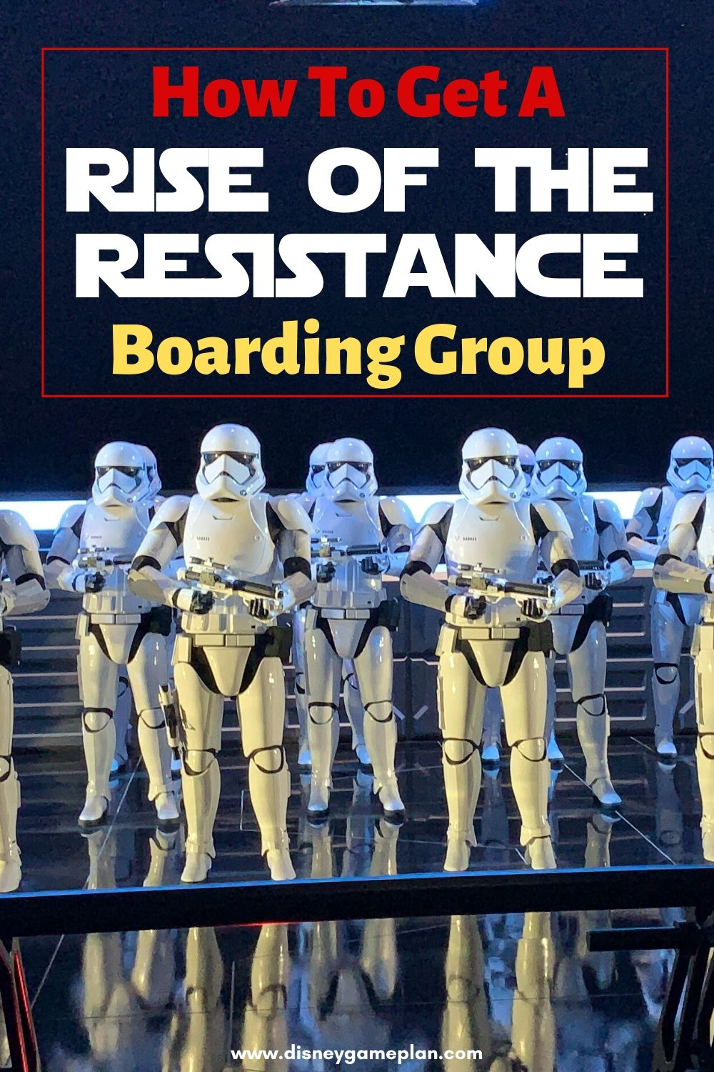 Want to experience the most popular ride at Walt Disney World? Here are my tips for How To Get A Rise Of The Resistance Boarding Group. These tips and tricks to help you secure a coveted boarding pass for Rise of the Resistance located in Hollywood Studios in Walt Disney World. This Disney World Attraction is a definite must-do for Star Wars fans. #riseoftheresistance #galaxysedge #disneyworldtips