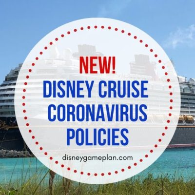 In the wake of the Coronavirus outbreak, here are the new Disney Cruise Line Coronavirus Policies. These policies for passengers sailing on their ships.