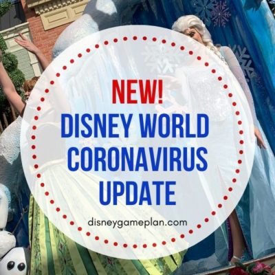 In the wake of the recent Coronavirus outbreak and the several confirmed cases in Florida, here is the latest Walt Disney World Coronavirus update issued by the park.