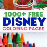 Let the kids have a little creative Disney fun. Grab some crayons or markers and download these Free Disney Coloring Pages and Activity Sheets.