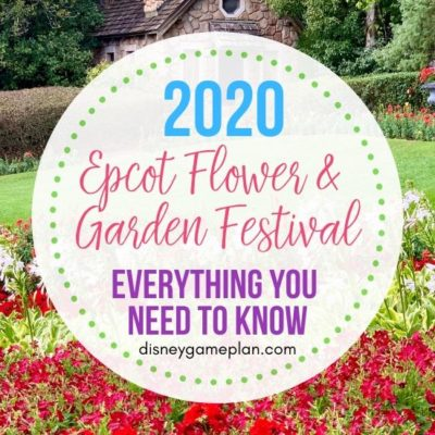 The Epcot International Flower and Garden Festival runs from March 4 to June 1, 2020, at Walt Disney World. Here are all the colorful details. This colorful Epcot festival is blooming with brilliant gardens, fresh flavors, rockin' entertainment and more. Find out the latest Disney planning tips for the flower and garden festival. #Epcotflowerandgardenfestival #disneytips #disneyplanning