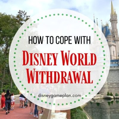 Walt Disney World Withdrawal is the real deal. Leaving Disney World is never easy. Here are some ways to cope with post-Disney depression.