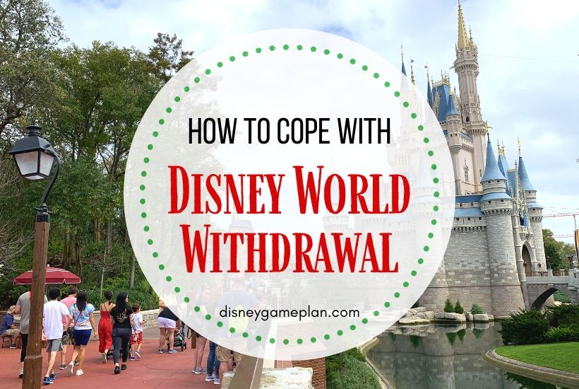 How To Cope With Disney World Withdrawal