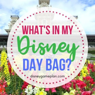 Are you organizing a Walt Disney World vacation? Don't forget to focus on what to pack! Read on for what's in my Disney Day bag. Pack these items before you head to Walt Disney World to ensure you have a magical day. Check out these Disney packing tips. #Disneybackpack #Disneypackingtips #Disneyworld