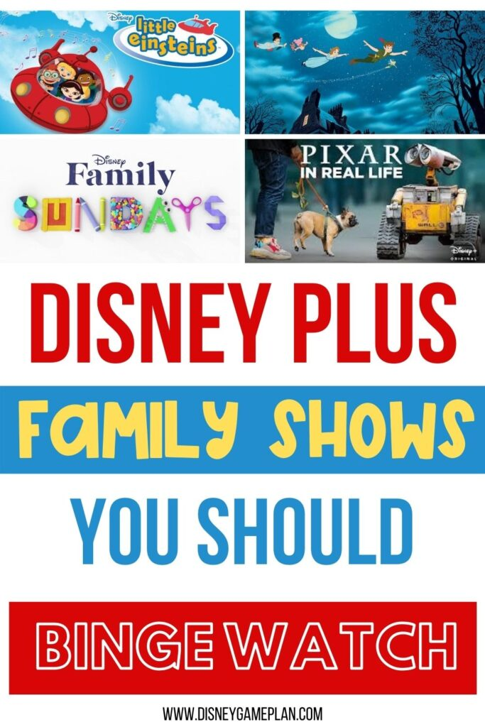 If you are looking for something new to watch with the kids during long periods of downtime, here are some of my favorite options right now on Disney Plus.