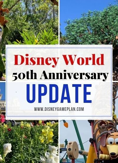 "DISNEY WORLD IS CALLING THEIR 50TH ANNIVERSARY EVENT ""THE WORLD'S MOST MAGICAL CELEBRATION"" AND IT WILL OFFICIALLY BEGIN ON OCTOBER 1."